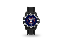 Houston Astros Watch Men's Model 3 Style with Black Band