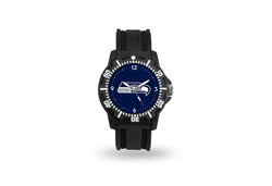 Seattle Seahawks Watch Men's Model 3 Style with Black Band