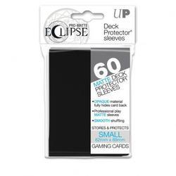 Category: Dropship No Teams, SKU #7442785386, Title: Deck Protectors - Pro Matte Small - Eclipse Black (12 packs per display) Special Order