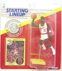 Atlanta Hawks Dominique Wilkins 1991 SLU