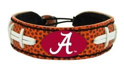 Alabama Crimson Tide Bracelet - Classic Football - Special Order