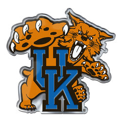 Kentucky Wildcats Auto Emblem Color Alternate Logo