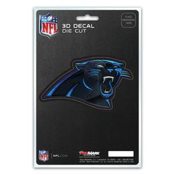 Carolina Panthers Decal 5x8 Die Cut 3D Logo Design