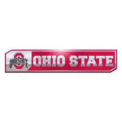 Ohio State Buckeyes Auto Emblem Truck Edition 2 Pack