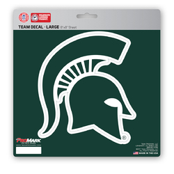 Michigan State Spartans Decal 8x8 Die Cut - Special Order
