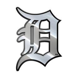 Detroit Tigers Auto Emblem Premium Metal