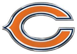 Chicago Bears Auto Emblem - Color