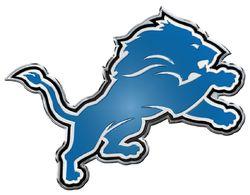 Detroit Lions Auto Emblem - Color