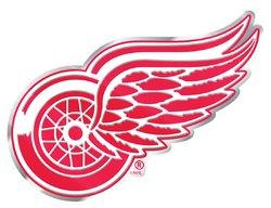 Detroit Red Wings Auto Emblem - Color