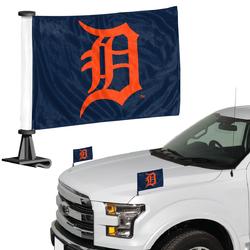 Detroit Tigers Flag Set 2 Piece Ambassador Style