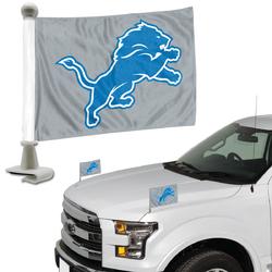 Detroit Lions Flag Set 2 Piece Ambassador Style