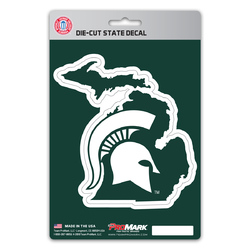 Michigan State Spartans Decal State Design