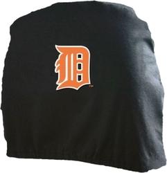Detroit Tigers Headrest Covers