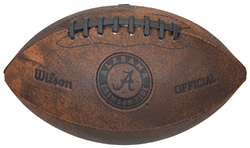 Alabama Crimson Tide Football Vintage Throwback 9 Inches