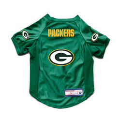 Green Bay Packers Pet Jersey Stretch Size Big Dog