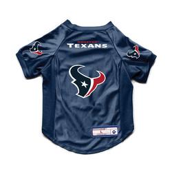 Houston Texans Pet Jersey Stretch Size Big Dog