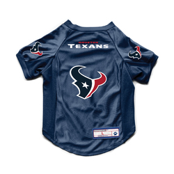 Houston Texans Pet Jersey Stretch Size M Special Order