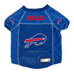 Buffalo Bills Pet Jersey Size L