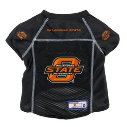 Oklahoma State Cowboys Pet Jersey Size L
