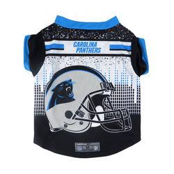 Carolina Panthers Pet Performance Tee Shirt Size S