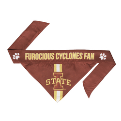 Iowa State Cyclones Pet Bandanna Size S