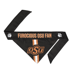 Oklahoma State Cowboys Pet Bandanna Size L - Special Order