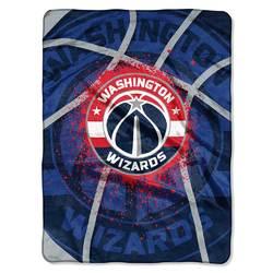Category: Dropship Temporary Category, SKU #8791808358, Title: Washington Wizards Blanket 60x80 Raschel Shadow Play Design