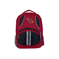 Arizona Cardinals Backpack Captain Style Red and Black