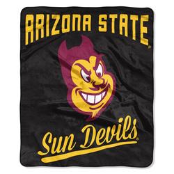 Arizona State Sun Devils Blanket 50x60 Raschel Alumni Design - Special Order