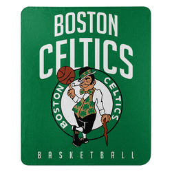 Boston Celtics Blanket 50x60 Fleece Lay Up Design