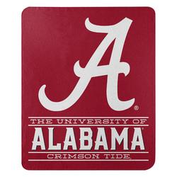 Alabama Crimson Tide Blanket 50x60 Fleece Control Design