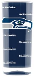 Seattle Seahawks Tumbler - Square Insulated (16oz)