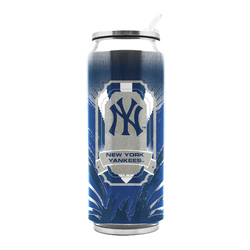New York Yankees Stainless Steel Thermo Can - 16.9 ounces