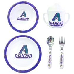 Arizona Diamondbacks 5 Piece Children's Dinner Set