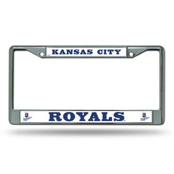 Kansas City Royals License Plate Frame Chrome