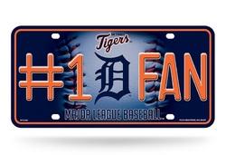 Detroit Tigers License Plate #1 Fan