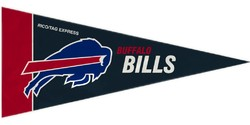 Buffalo Bills Pennant Set Mini 8 Piece