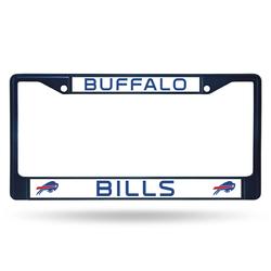 Buffalo Bills License Plate Frame Metal Navy