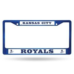 Kansas City Royals License Plate Frame Metal Blue