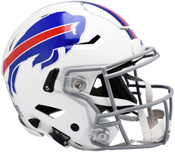 Category: Dropship Licensed Novelties, SKU #9585530995, Title: Buffalo Bills Helmet Riddell Authentic Full Size SpeedFlex Style Special Order