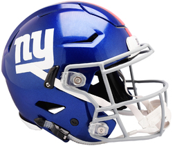 Category: Dropship Licensed Novelties, SKU #9585531007, Title: New York Giants Helmet Riddell Authentic Full Size SpeedFlex Style Special Order