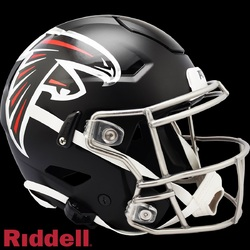 Category: Dropship Licensed Novelties, SKU #9585531045, Title: Atlanta Falcons Helmet Riddell Authentic Full Size SpeedFlex Style 2020 Special Order