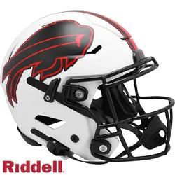 Category: Dropship Licensed Novelties, SKU #9585562613, Title: Buffalo Bills Helmet Riddell Authentic Full Size SpeedFlex Style Lunar Eclipse Alternate