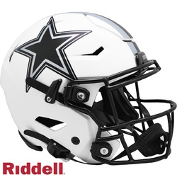 Category: Dropship Licensed Novelties, SKU #9585562621, Title: Dallas Cowboys Helmet Riddell Authentic Full Size SpeedFlex Style Lunar Eclipse Alternate