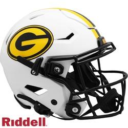 Category: Dropship Licensed Novelties, SKU #9585562629, Title: Green Bay Packers Helmet Riddell Authentic Full Size SpeedFlex Style Lunar Eclipse Alternate
