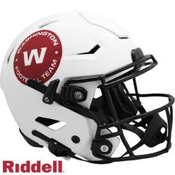 Category: Dropship Licensed Novelties, SKU #9585562635, Title: Washington Football Team Helmet Riddell Authentic Full Size SpeedFlex Style Lunar Eclipse Alternate
