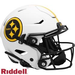 Category: Dropship Licensed Novelties, SKU #9585562638, Title: Pittsburgh Steelers Helmet Riddell Authentic Full Size SpeedFlex Style Lunar Eclipse Alternate