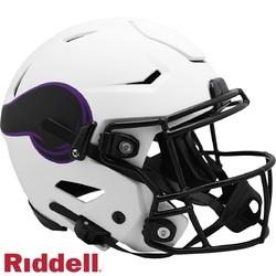 Category: Dropship Licensed Novelties, SKU #9585562641, Title: Minnesota Vikings Helmet Riddell Authentic Full Size SpeedFlex Style Lunar Eclipse Alternate