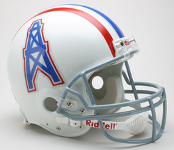 Category: Dropship Sports Fan Gifts, SKU #9585598610, Title: Houston Oilers 1975-80 Throwback Pro Line Helmet Special Order