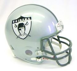 Category: Dropship Sports Fan Gifts, SKU #9585598629, Title: Las Vegas Raiders 1960-63 Throwback Pro Line Helmet - Special Order